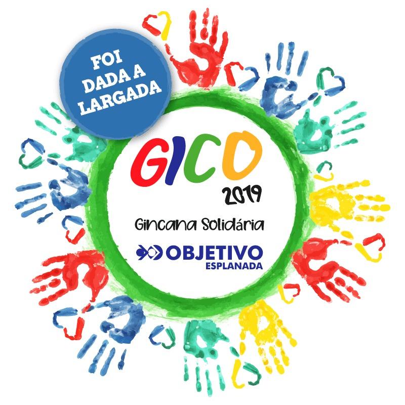 GICO 2019 MOVIMENTA ALUNOS E PROFESSORES DO COLÉGIO OBJETIVO ESPLANADA